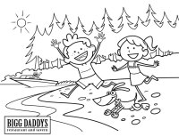 Bigg Daddys Coloring Sheet