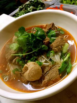 Stew Beef Noodle Soup