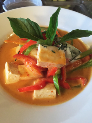 Panang Curry with Tofu