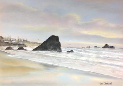 Harris Beach-Morning Sunrise