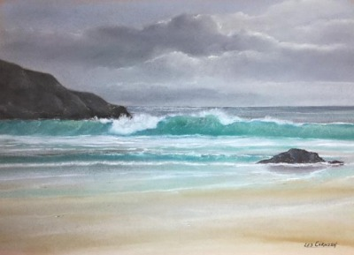 Harris Beach-Wave & Rocks