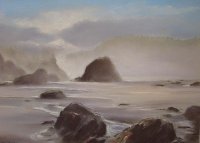 Misty Whaleshead Beach Oregon