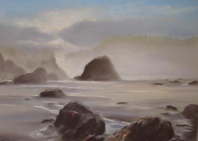Misty Whaleshead Beach Oregon