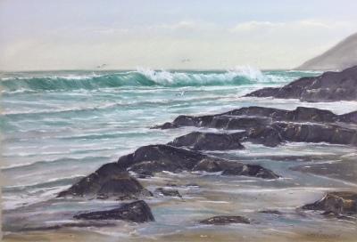 Basalt Beach Waves