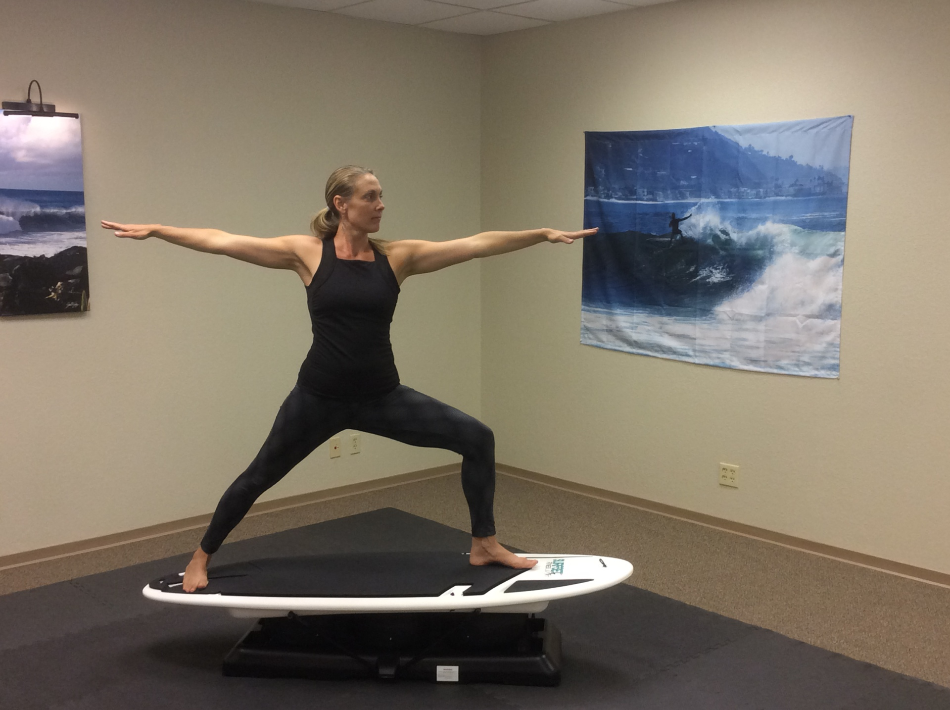 Certified yoga and Surfset Instructor