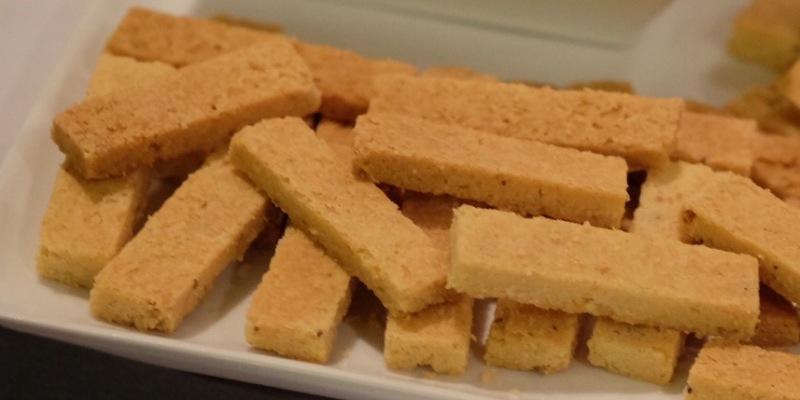 Orange Caraway Shortbread