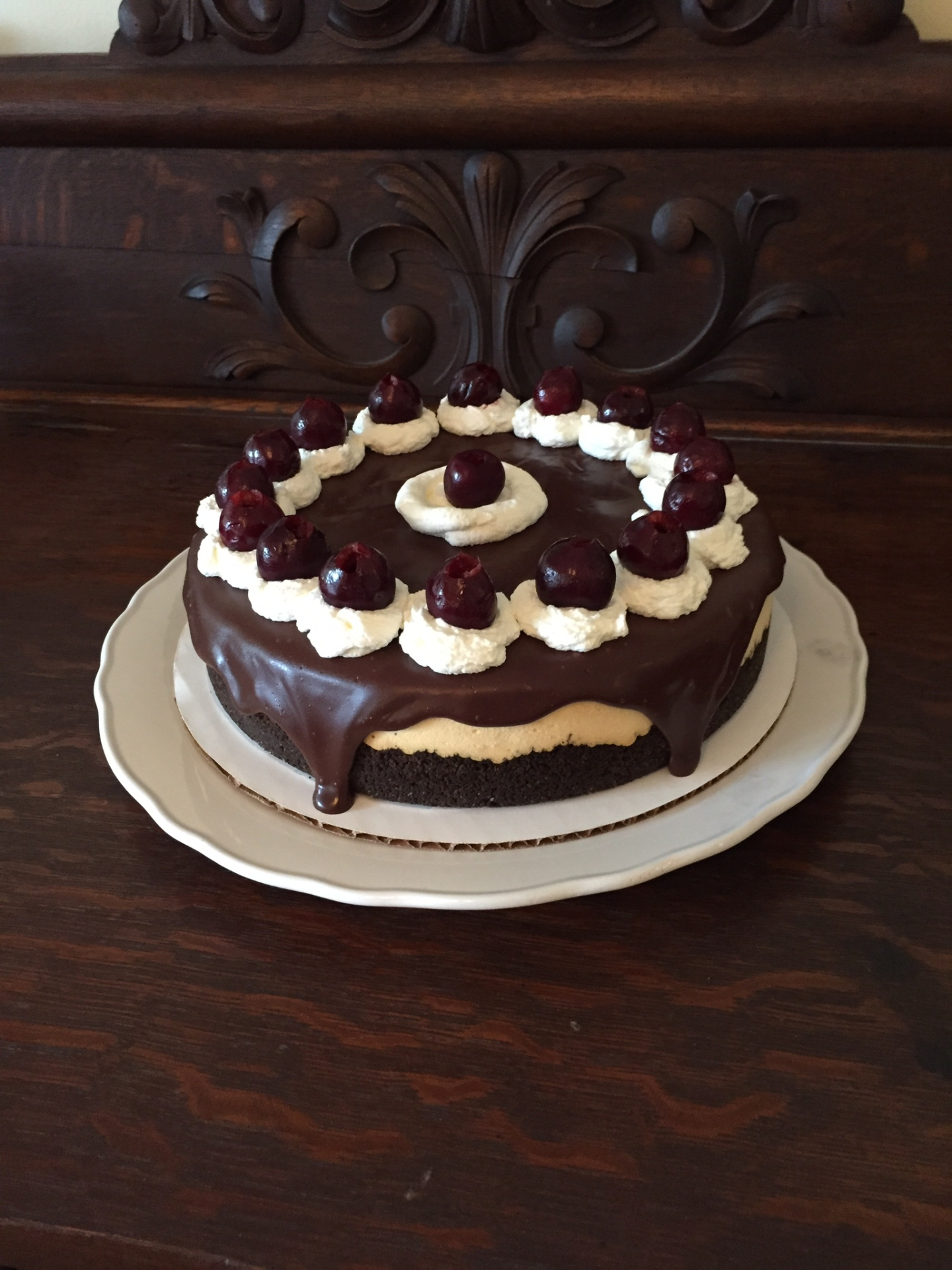 Black Forest Cheesecake