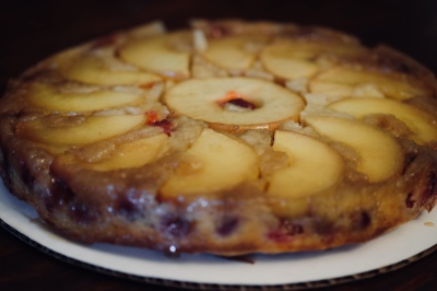 Apple and Cranberry Cake