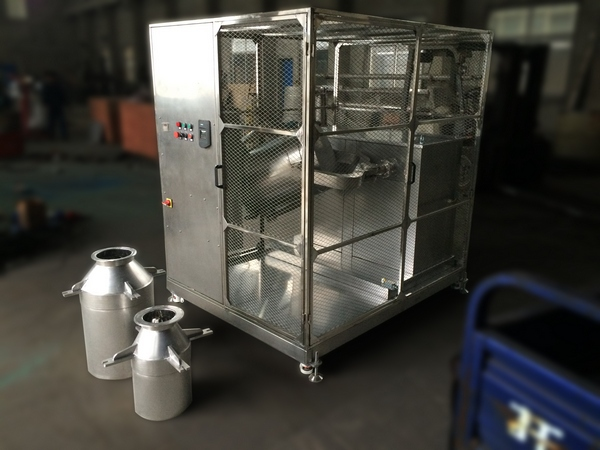 3D Mixer for USA Customer with Safety Cage