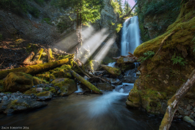 Valhalla: Oregon's newly explored slot canyon