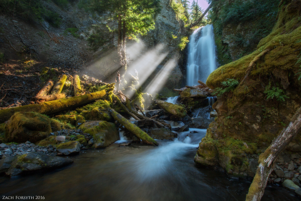 Valhalla: Oregon's newly explored slot canyon