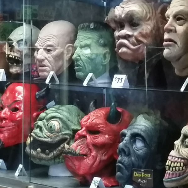Halloween is all year round  at the Creature's Crypt