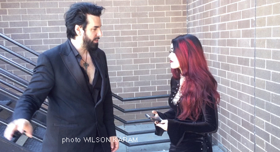 Tangents' Aurelio Voltaire video interview
