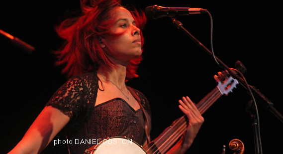 Rhiannon Giddens at Carolina Theater on June 7, 2017