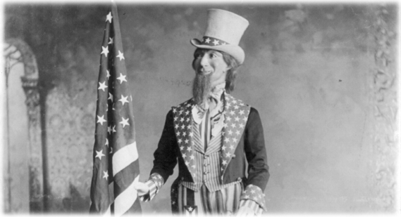 Uncle Sam leaves United States, moves to Canada