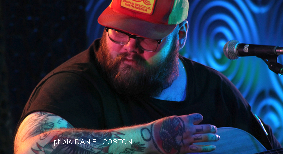 John Moreland at Visulite Theater on July 25, 2017