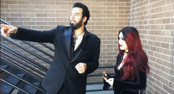 Aurelio Voltaire video interview