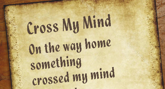 Cross My Mind