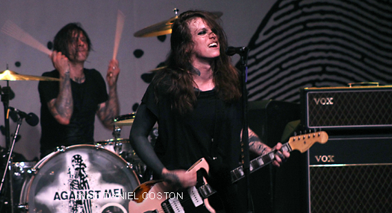 Concert Review: Against Me! at Neighborhood Theatre