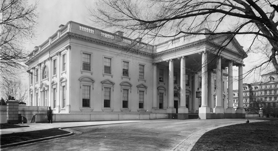 Washington DC workers quickly build fake version of White House to provide new home for Trump