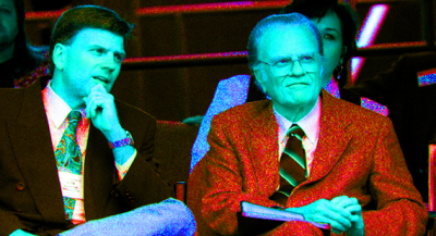 Billy Graham apologizes for leaving us alone with son Franklin