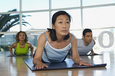 Yoga eases moderate to severe chronic low back pain