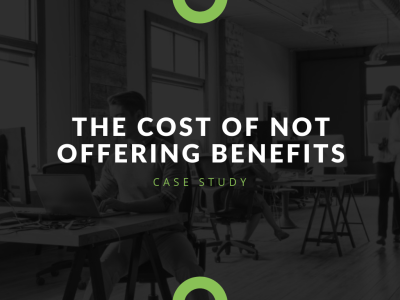 How much does not offering health benefits cost your small business?