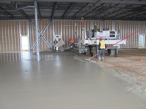CONCRETE FLOOR FINISHING