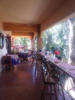 Guesthouse breakfast area