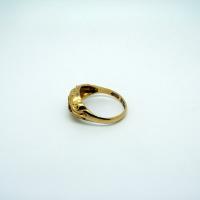Antique Ruby & Diamond Yellow Gold Ring