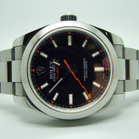 Rolex Blue-Dial Milgauss Wrist Watch