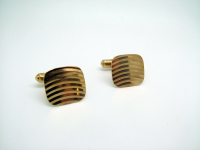 Rounded Square-Shaped Modern Cufflinks