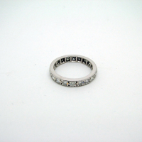 18ct White Gold Full Eternity Ring