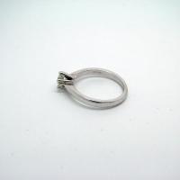 Single Stone 18ct Diamond Ring