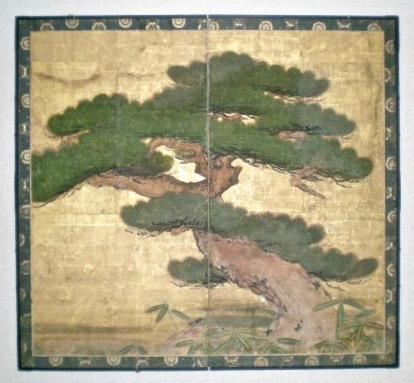 Restored byōbu