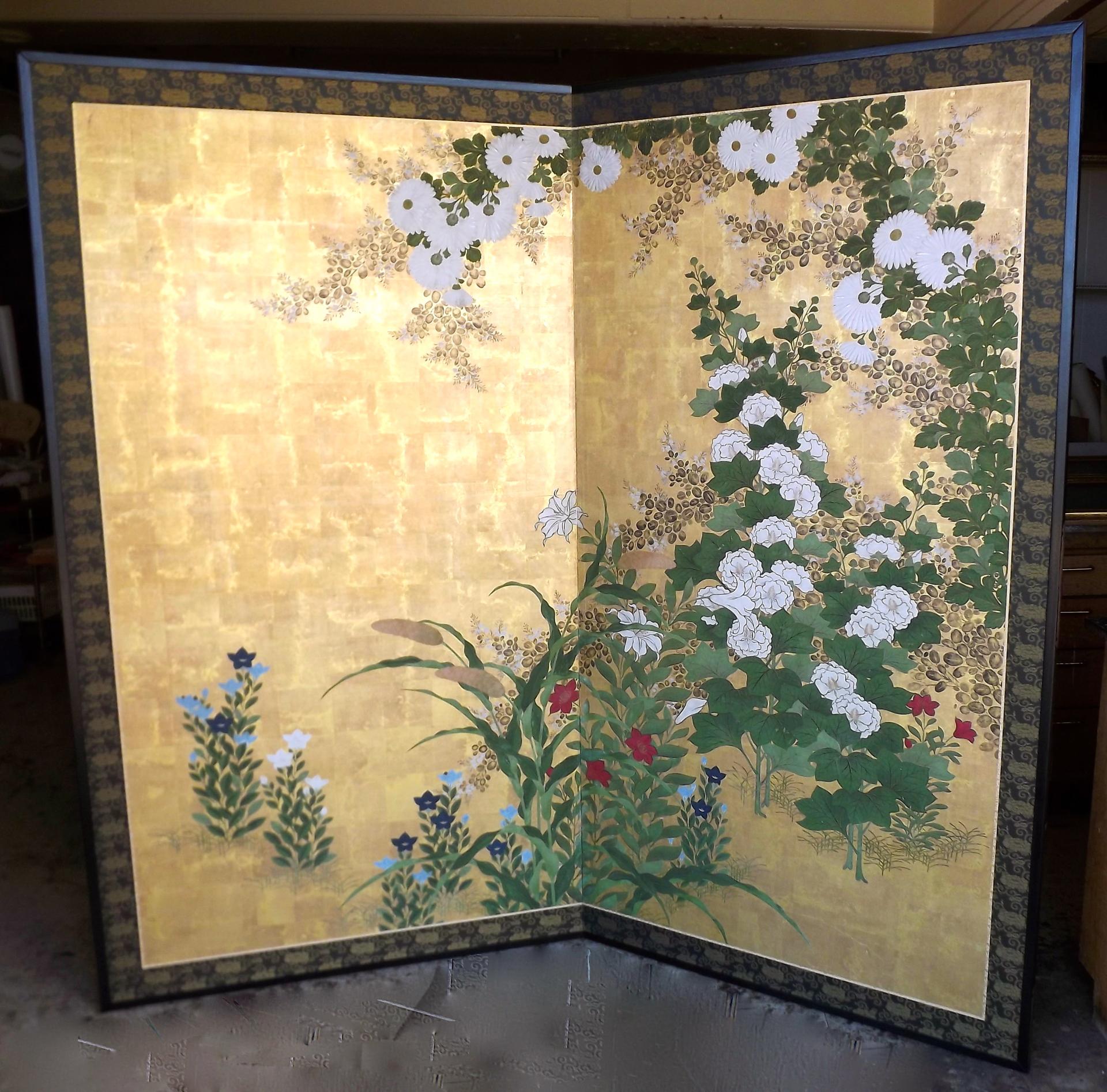 Restored 2-panel byobu