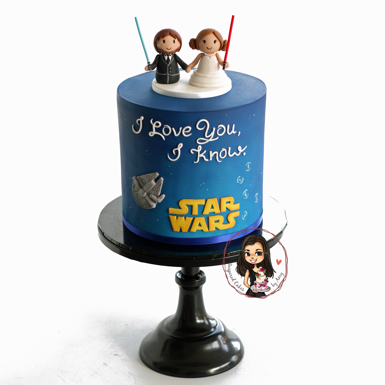 star wars grooms cake