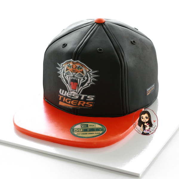 Wests Tigers Cap cake