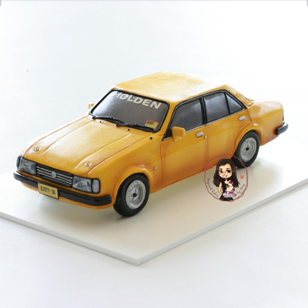 Holden Gemini 3D car cake