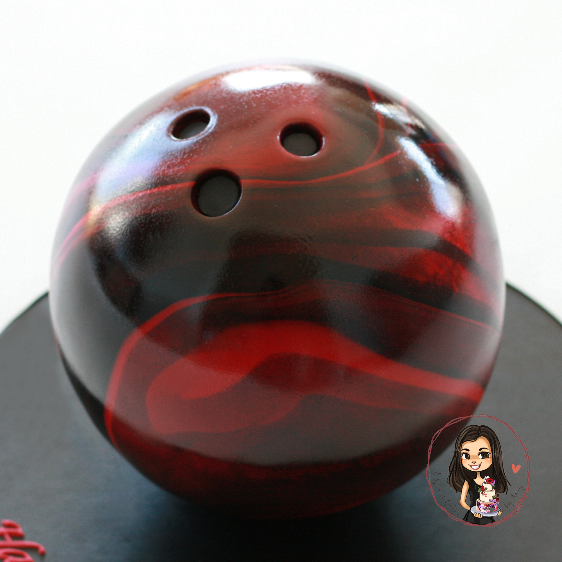 3D gravity defying bowling ball