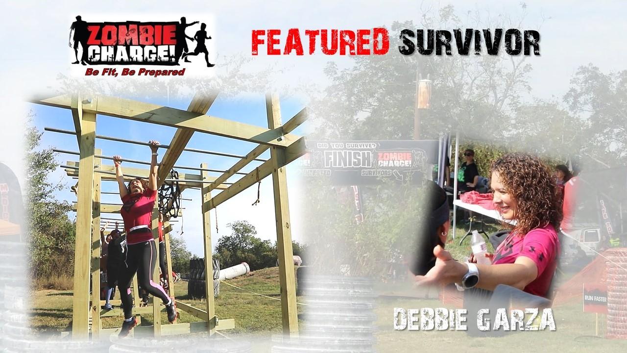 Debbie Garza Houston Zombie Charge 5K Mud Run