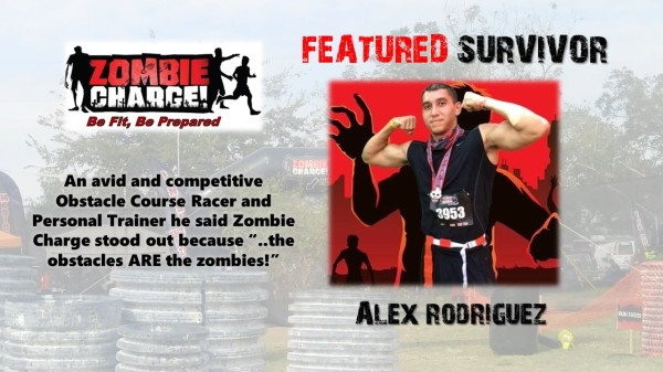 Alex Rodriguez Houston Zombie Charge Survivor