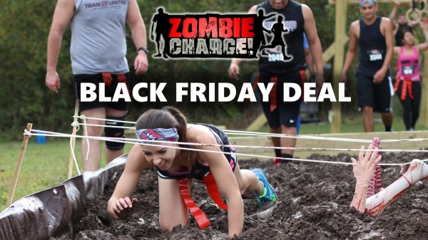 Black Friday Zombie Mud Run