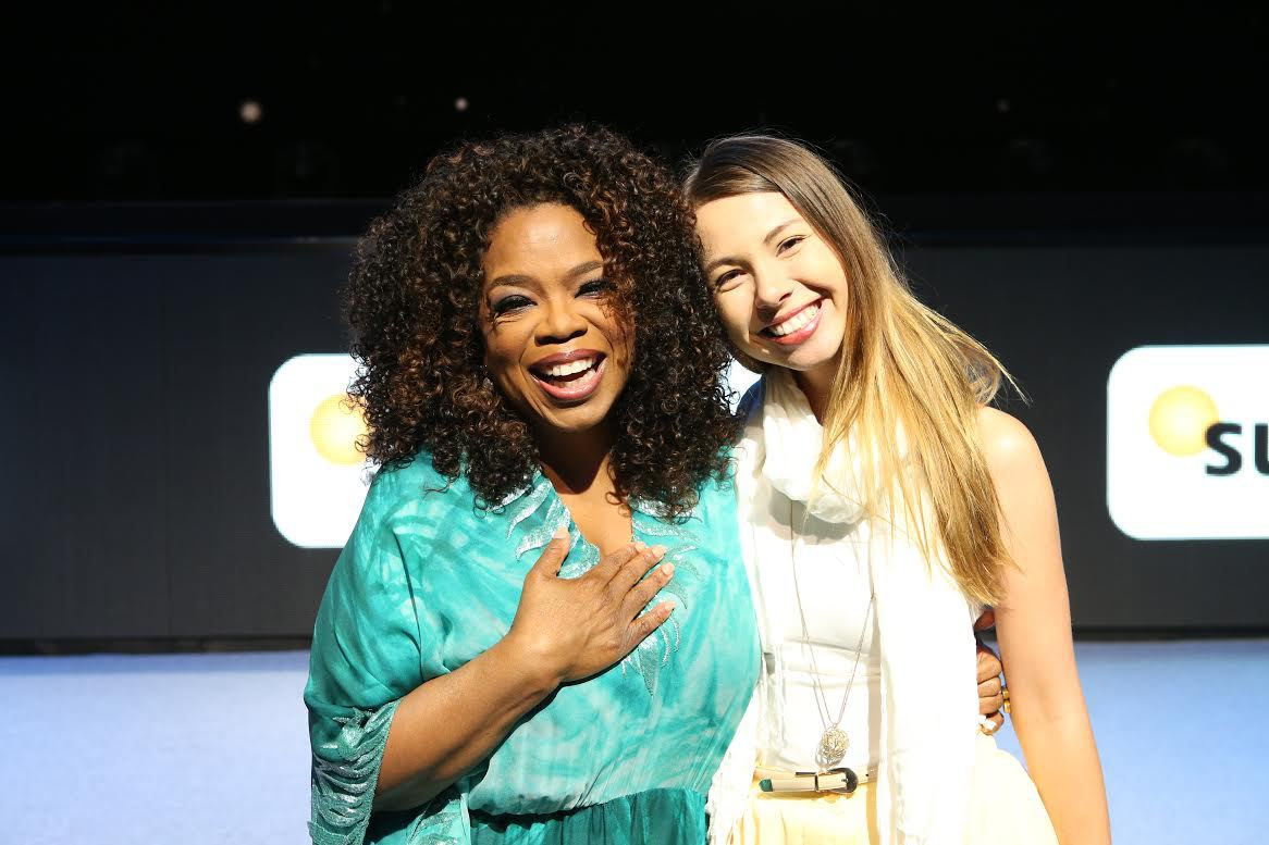 Amy Radunz & Oprah