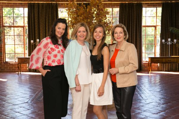 Megan Quinn, Hon Lisa Scaffidi, Amy Radunz & Ita Buttrose