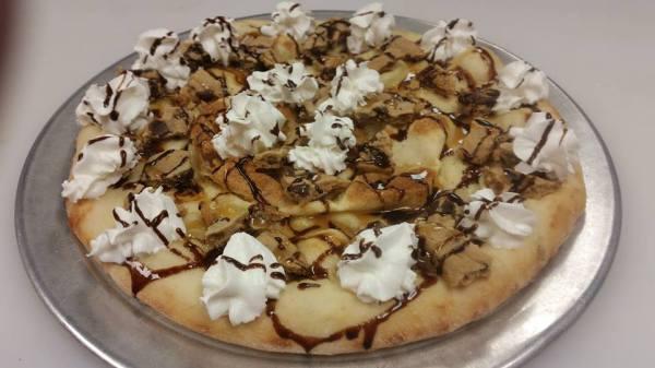 Chocolate Cookie Dessert Pizza