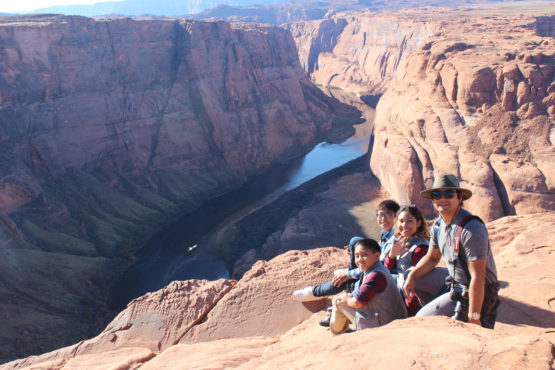 Exploring Horseshoe Bend