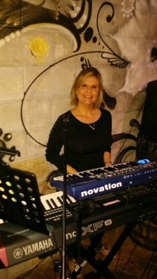 Susie Ramirez Keyboardist for Exit Left South Florida's Hottest Rock Cover Band