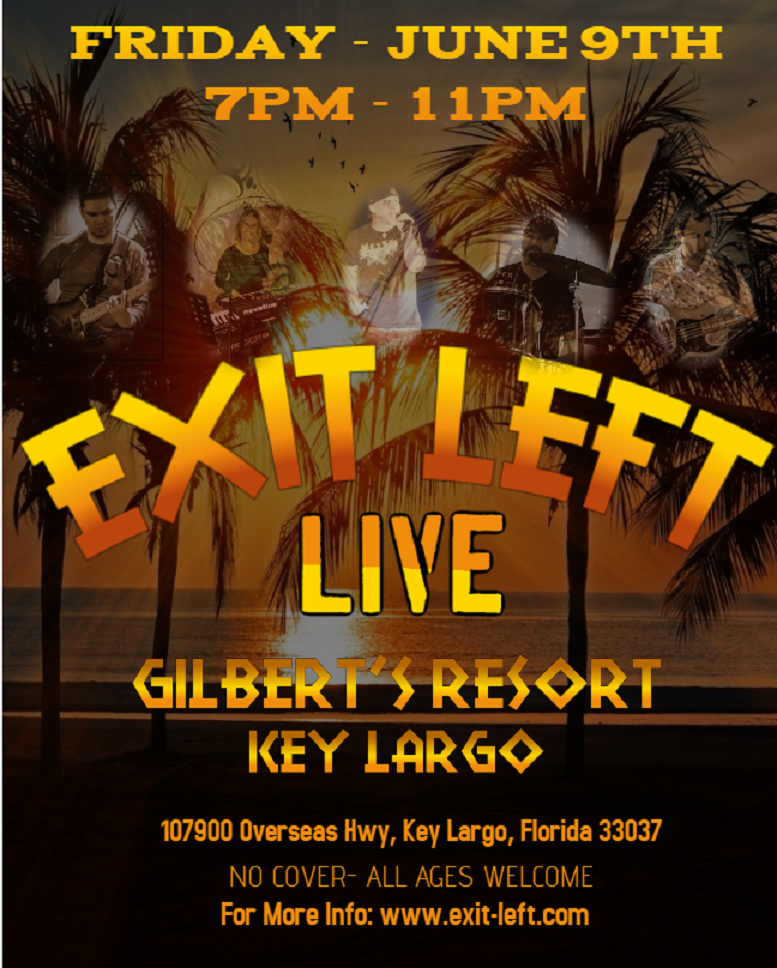 Exit Left South Florida's Fan Favorite Rock Cover Band