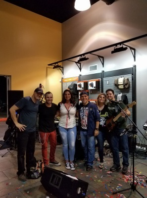 Exit Left Band Live with Ariel Rich at Palm Beach Harley Davidson